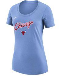 Nike - Chicago Bulls City Edition Scoop T-shirt - Lyst