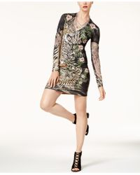 Just Cavalli | Printed Bodycon Dress | Lyst