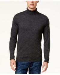 Vince Camuto - Ribbed Wool Turtleneck Jumper - Lyst