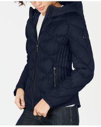 Michael Kors Michael Hooded Packable Down Puffer Coat