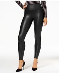 b3910e9e288dcd Guess Faux-leather Snake-detail Leggings in Red - Lyst