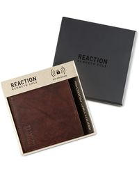 Kenneth Cole Reaction - Men's Crunch Hipster Rfid Wallet - Lyst
