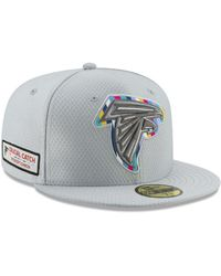 33ed8568e6f Lyst - KTZ New York Giants Crucial Catch 59fifty Fitted Cap in Gray ...