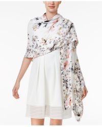 INC International Concepts - Butterfly Garden Wrap & Scarf In One - Lyst