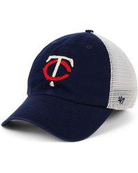 sports shoes b7dbb 0699b 47 Brand Cleveland Indians Privateer Closer Cap in White for Men - Lyst