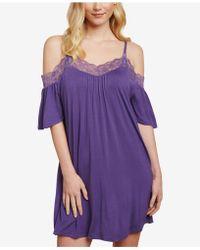 Jessica Simpson - Nursing Lace-trim Nightgown - Lyst