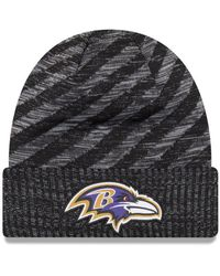 Lyst - Ktz Baltimore Ravens Gold Collection Knit Hat in Purple for Men 7f635a2333f7