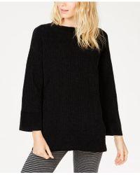Eileen Fisher - Chenille Round-neck Sweater, Regular & Petite - Lyst