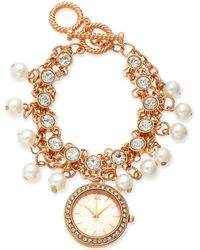 Charter Club - Rose Gold-tone Toggle Bracelet Watch 36mm, Created For Macy's - Lyst