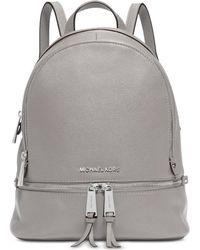 Michael Kors | Rhea Zip Small Backpack | Lyst
