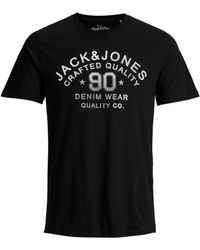 Jack & Jones - Denim Wear Crew Neck Tee - Lyst
