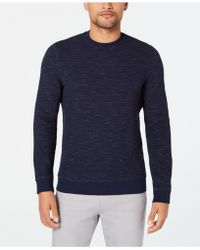 Alfani - Heathered Sweatshirt, Created For Macy's - Lyst