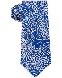 Sean John - Botanical Paisley Print Silk Tie - Lyst