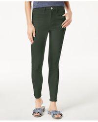 Maison Jules - Frayed-hem Skinny Jeans, Created For Macy's - Lyst