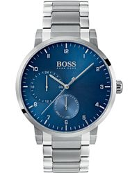 BOSS - Oxygen Chronograph Bracelet Watch - Lyst