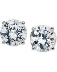Macy's - Diamond Stud Earrings (3/4 Ct. T.w.) In 14k White Or Yellow Gold - Lyst