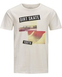 Jack & Jones - Originals Printed Crew Neck Tee - Lyst