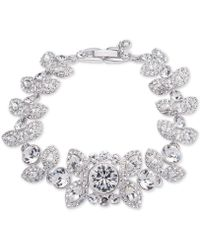Givenchy - Crystal And Pavé Decorative Bracelet - Lyst