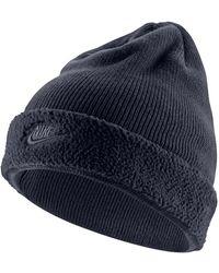 best service a1d87 85af9 Nike - Sportswear Fleece-cuff Beanie - Lyst