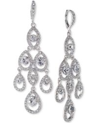 Givenchy - Crystal Chandelier Earrings - Lyst
