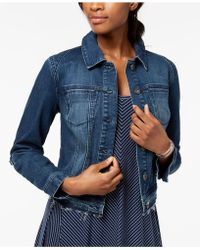 Style & Co. - Released Hem Denim Jacket, Created For Macy's - Lyst