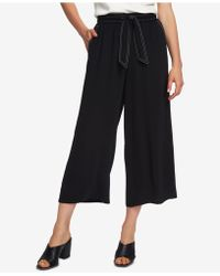 1.STATE - Cropped Wide-leg Pants - Lyst