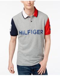 Tommy Hilfiger - Colorblocked Performance Polo - Lyst