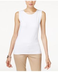 Alfani - Sleeveless Layering Tank Top, Created For Macy's - Lyst