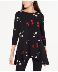 Alfani - Printed High-low Tunic, Created For Macy's - Lyst