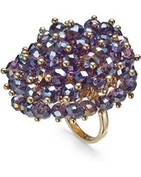INC International Concepts - I.n.c. Gold-tone Shaky Bead Statement Ring, Created For Macy's - Lyst