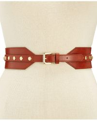 INC International Concepts - Stud Stretch Belt, Created For Macy's - Lyst