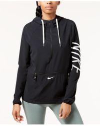 Nike - Flex Half-zip Hooded Training Jacket - Lyst