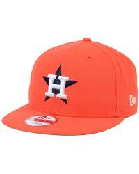 KTZ - Houston Astros 2 Tone Link 9fifty Snapback Cap - Lyst