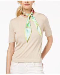 Echo - Beach Day Silk Diamond Scarf - Lyst