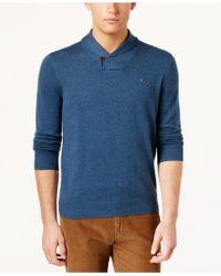 Tommy Hilfiger - Men's Springfield Shawl-collar Sweater - Lyst