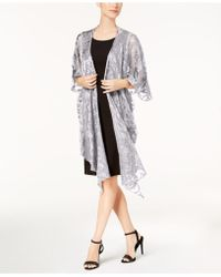 Steve Madden - Baroque Burnout Draped Evening Wrap - Lyst