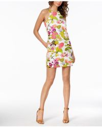 Trina Turk - Retro-print Mini Dress - Lyst