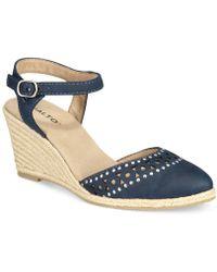 Rialto - Constance Espadrille Wedge Sandals - Lyst