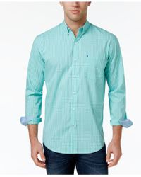 Izod - Men's Non-iron Stretch Performance Shirt - Lyst