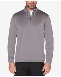 PGA TOUR - Tech Fleece Quarter-zip Top - Lyst