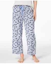 Charter Club - Knit Print Pajama Pants, Created For Macy's - Lyst