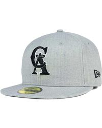 pretty nice 9408a ca401 KTZ Seattle Supersonics Shader Melt 59fifty Cap in Gray for Men - Lyst
