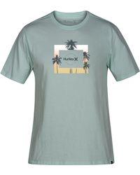 Hurley - Twilight Logo Graphic T-shirt - Lyst