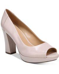 Naturalizer - Amie Peep-toe Court Shoes - Lyst