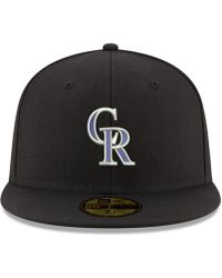 official photos 63b2a bb5ad KTZ Colorado Rockies The Letter Man 9fifty Snapback Cap in Black for Men -  Lyst
