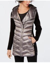 Calvin Klein - Performance Asymmetrical Puffer Jacket - Lyst