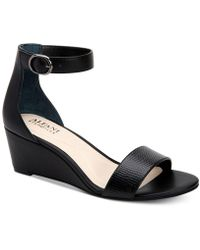 Alfani - Tamirra Step 'n Flex Wedge Sandals, Created For Macy's - Lyst