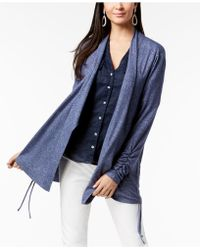 INC International Concepts - I.n.c. Ruched Cardigan, Created For Macy's - Lyst