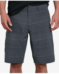 """Volcom - Frickin Slim-fit Stretch 21"""" Hybrid Shorts - Lyst"""