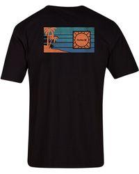 Hurley - Fallout Logo-print T-shirt - Lyst